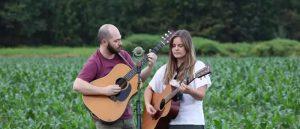 Earleine performing outdoors