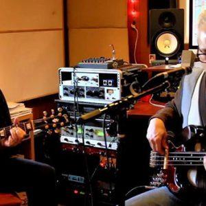 Jon Shain FJ Ventre recording in studio
