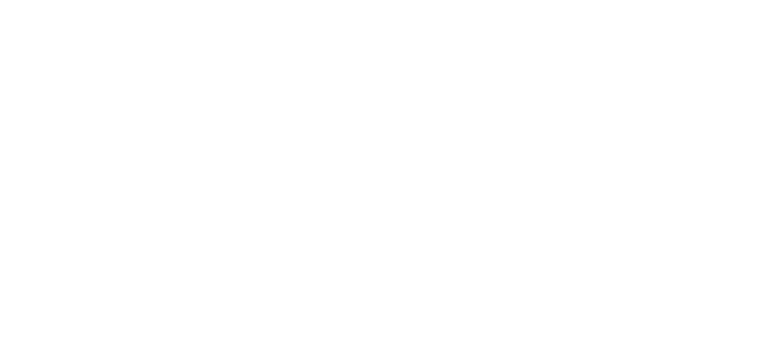 Sugar Magnolia Cafe Logo - White script text above illustrated magnolia bloom with scroll work and sans-serif text at bottom