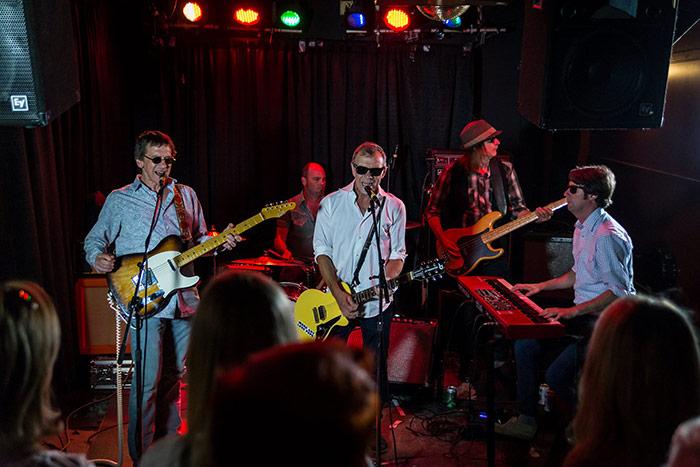 Backsliders performing live